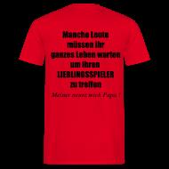 T-Shirts ~ Männer T-Shirt ~ Stolzer Fußball Papa