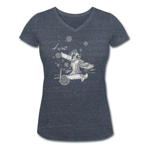 Egal wie weit… - Frauen Bio-T-Shirt mit V-Ausschnitt von Stanley & Stella
