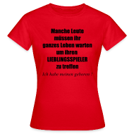 T-Shirts ~ Frauen T-Shirt ~ Stolze Fußball Mama II