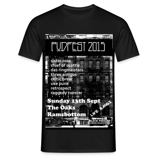 PUDFEST 20125 - Men's T-Shirt