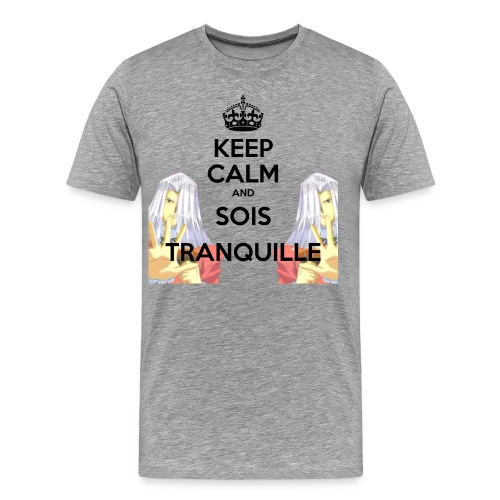 KEEP CALM AND SOIS TRANQUILLE | SD - T-shirt Premium Homme