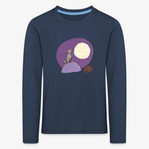 HERR LERbS: Sonst ruft doch auch keiner an (Illustration: J. Binitakies) - Kinder Premium Langarmshirt