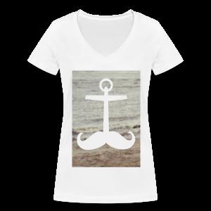 strand // mädels - Frauen Bio-T-Shirt mit V-Ausschnitt von Stanley & Stella