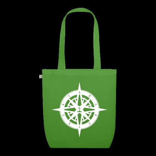 kompass // beutel // bio - Bio-Stoffbeutel