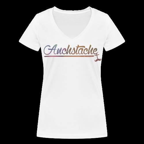script // mädels - Frauen Bio-T-Shirt mit V-Ausschnitt von Stanley & Stella