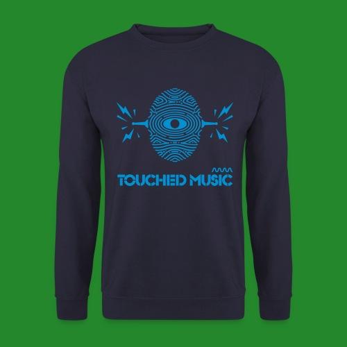 TOUCHED MUSIC LOGO [large - Men's Sweatshirt