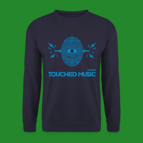 TOUCHED MUSIC LOGO [large - Men's Sweatshirt