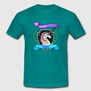 Unicorn poop rainbows Tee shirts - T-shirt Homme