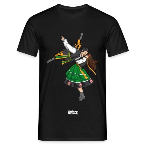 Tancerz Ludowy. - Koszulka męska