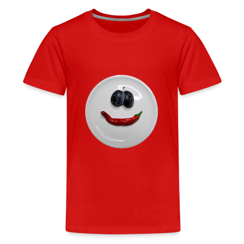 TIAN GREEN Shirt Teen - Smiley - Teenager Premium T-Shirt