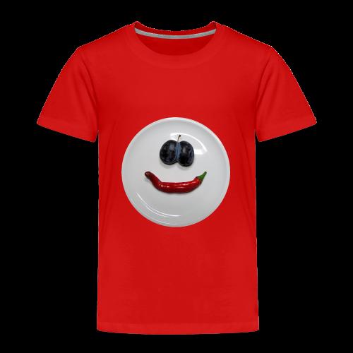 TIAN GREEN Shirt Kids - Smiley - Kinder Premium T-Shirt