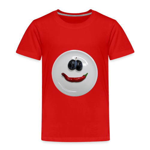 TIAN GREEN Shirt Kids - Smiley - Kinder Premium T-Shirt