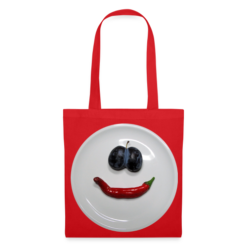 TIAN GREEN Tasche Bag 04 - Smiley - Stoffbeutel