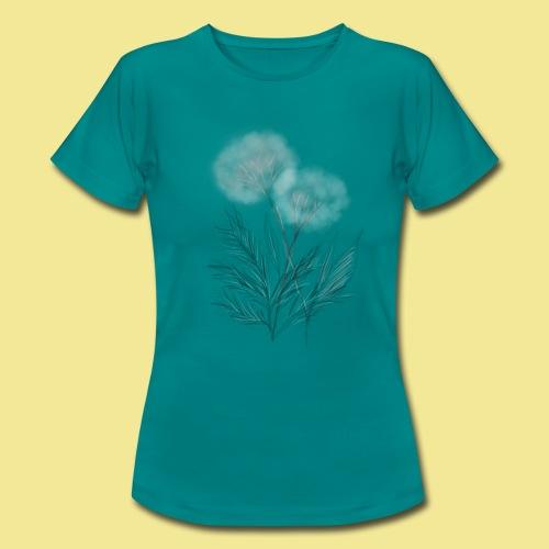 Damen Shirt Pusteblume - Frauen T-Shirt