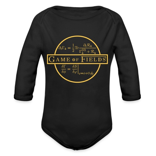 Game of Fields squire - Organic Longsleeve Baby Bodysuit