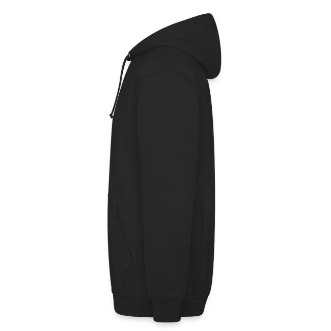 Sweat-shirt DEFEND SAUCISSE | Version blanc sur noir