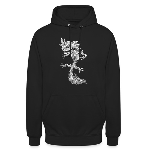Sweat Axolotl - Sweat-shirt à capuche unisexe