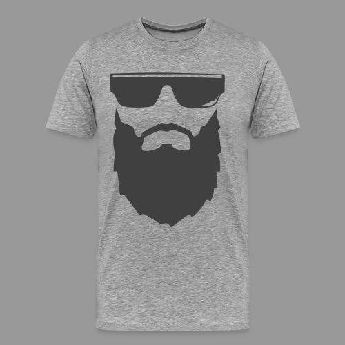 Porte la barbe Mec!  - T-shirt Premium Homme