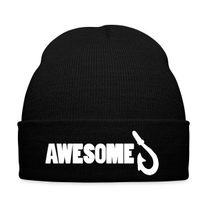 Totally Awesome Fishing Winter Beanie Hat - Winter Hat