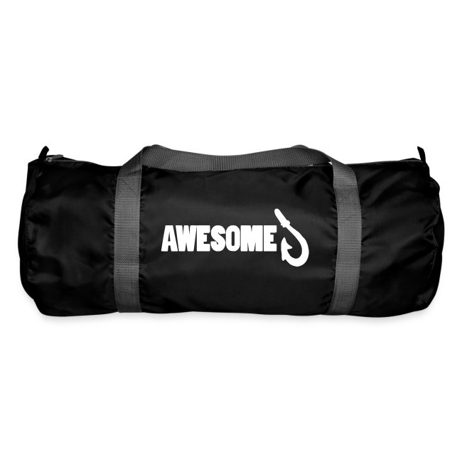 Duffel bag with Awesome Logo