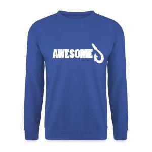 Sweatshirt with Awesome Logo - Men's Sweatshirt