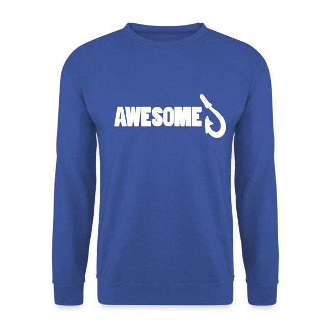 Sweatshirt with Awesome Logo