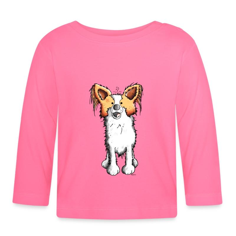Maglietta a manica lunga per bambini con paki papillon for Papillon per bambini