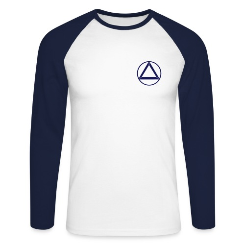 Longsleeve Crew - Männer Baseballshirt langarm