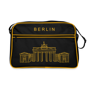 Brandenburger Tor Berlin - Retro Tasche