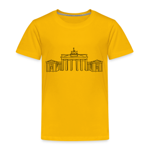 Brandenburger Tor Berlin - Kinder Premium T-Shirt