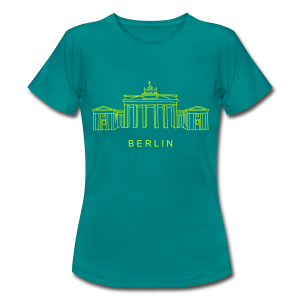 Brandenburger Tor Berlin (neon-gelb) - Frauen T-Shirt