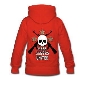 Geek and Gamers United - Sweat-shirt à capuche Premium pour femmes