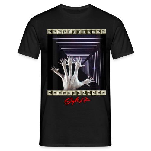 25 Hands in Light  - Männer T-Shirt