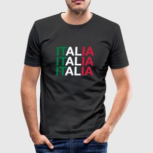 ITALIEN - Männer Slim Fit T-Shirt