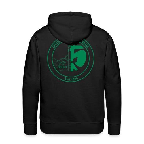 DPSG Kattwiga (Männer) Kapuzenpullover Version 2 (Aufdruck Grün) - Männer Premium Hoodie