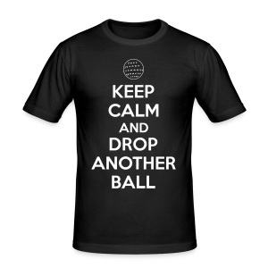Keep calm and drop another ball T-Shirts - Men's Slim Fit T-Shirt