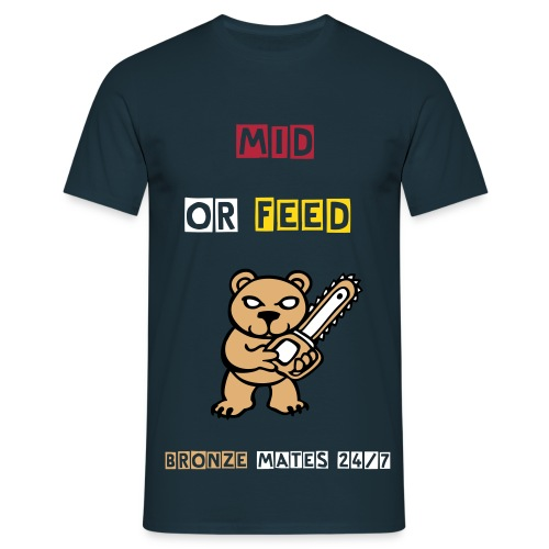 mid or feed bear - T-shirt Homme