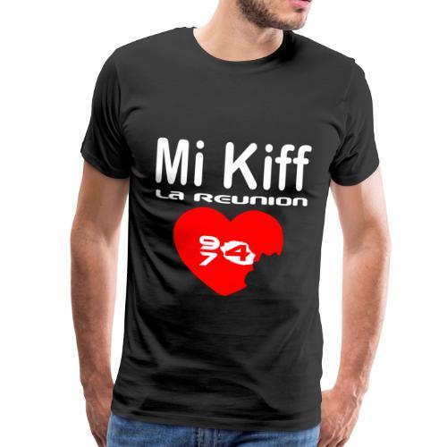Tee shirt Premium Homme Mi kiff la réunion - T-shirt Premium Homme