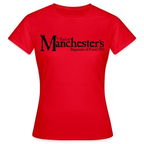 Women's Manchester's Logo (red) - Women's T-Shirt