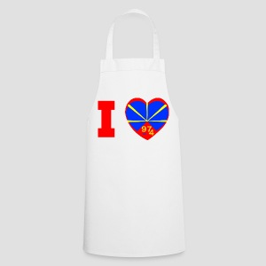 Tablier de cuisine  I love 974 - Lo Mahaveli - Tablier de cuisine