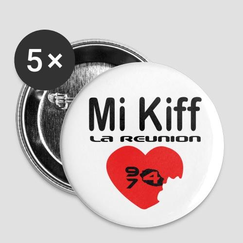 Badge moyen 32 mm Mi kiff la réunion - Badge moyen 32 mm
