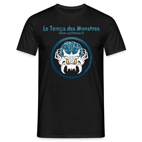 Tshirt  Noir Homme le Temps des monstres - T-shirt Homme