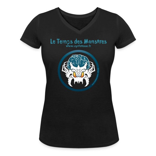 Tshirt Noir Femme le Temps des monstres