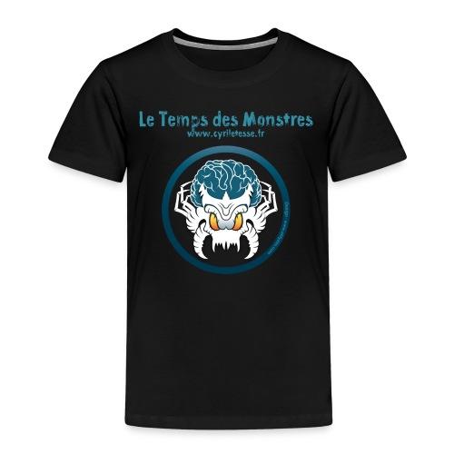 Tshirt Noir Enfants le Temps des monstres - T-shirt Premium Enfant