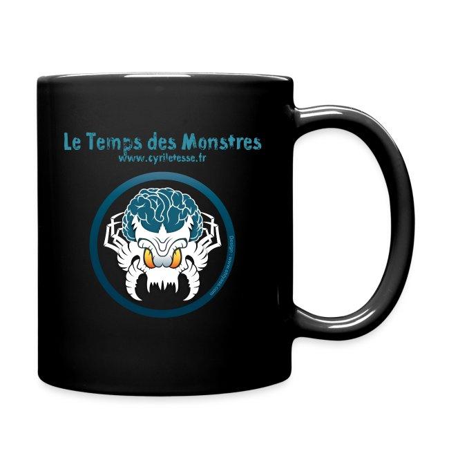 Mug Noir le Temps des monstres