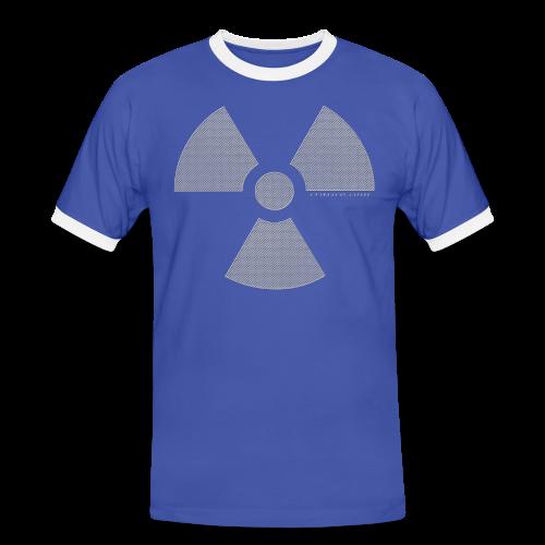 RADIOAKTIV - Effekt: gelochtes Aluminium - Männer Kontrast-T-Shirt