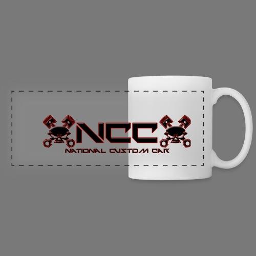 Mug panorama NCC - Mug panoramique contrasté et blanc
