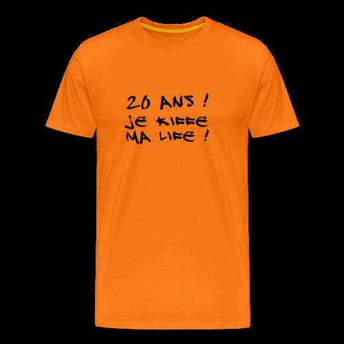 20 ans - je kiffe ma life ! - T-shirt Premium Homme