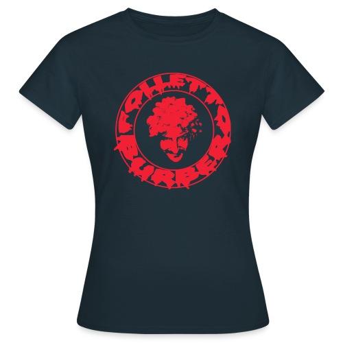 T-Shirt DONNA logo rosso - Maglietta da donna