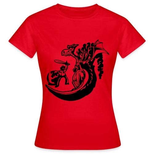 DPSG Kattwiga Frauen T-Shirt (Heldenzeit) - Frauen T-Shirt